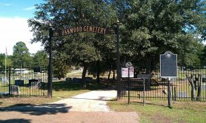 The haunted Oakwood Cemetery in Jefferson, Texas