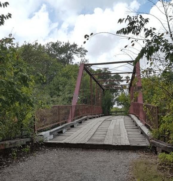 Goatman's Bridge in Texas