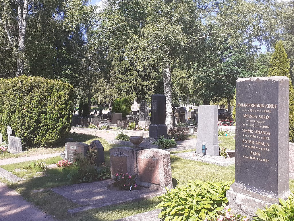 photo of Cemetery gravestones