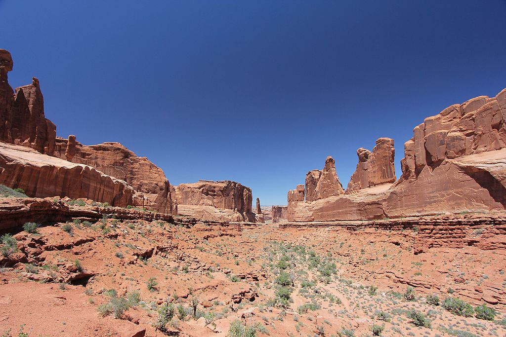 Photo of prairie from arches national park