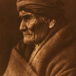 Portrait of Geronimo by Edward S. Curtis, 1905